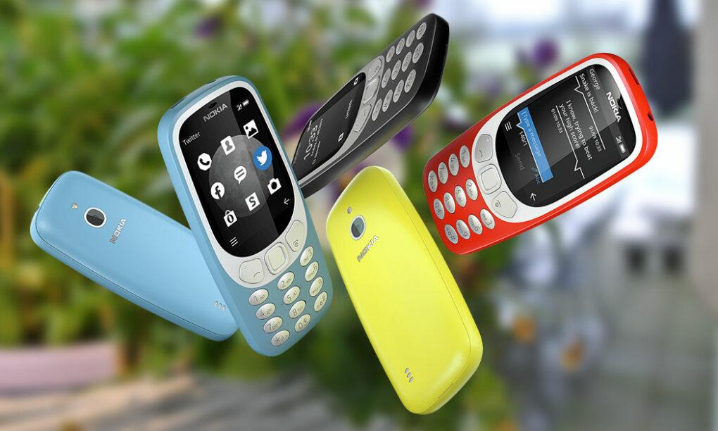 Nokia 3310 met 4G en ondersteuning voor WhatsApp
