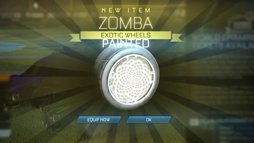 rocket league zombas
