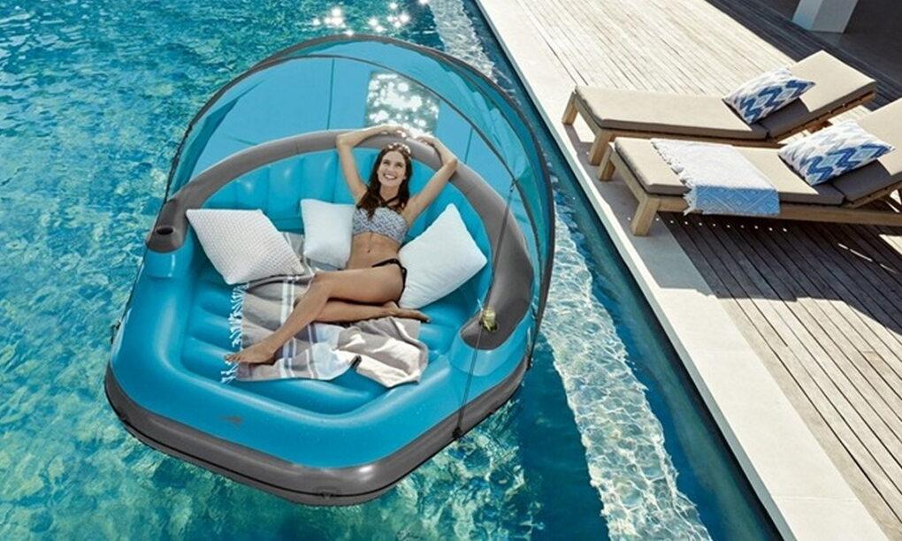HEBBEN Lidl komt met chill en cheap opblaasbaar lounge eiland