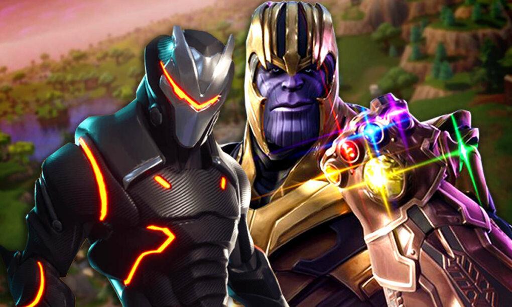 Nieuwe Fortnite game mode is brute cross over met Avengers Infinity War