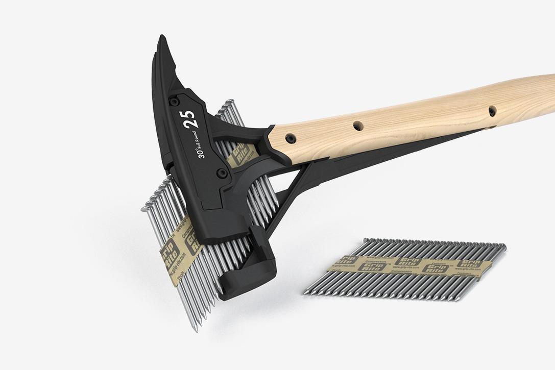 Dit hybride spijker hamerpistool is de oplossing voor kapotgeslagen vingers 03