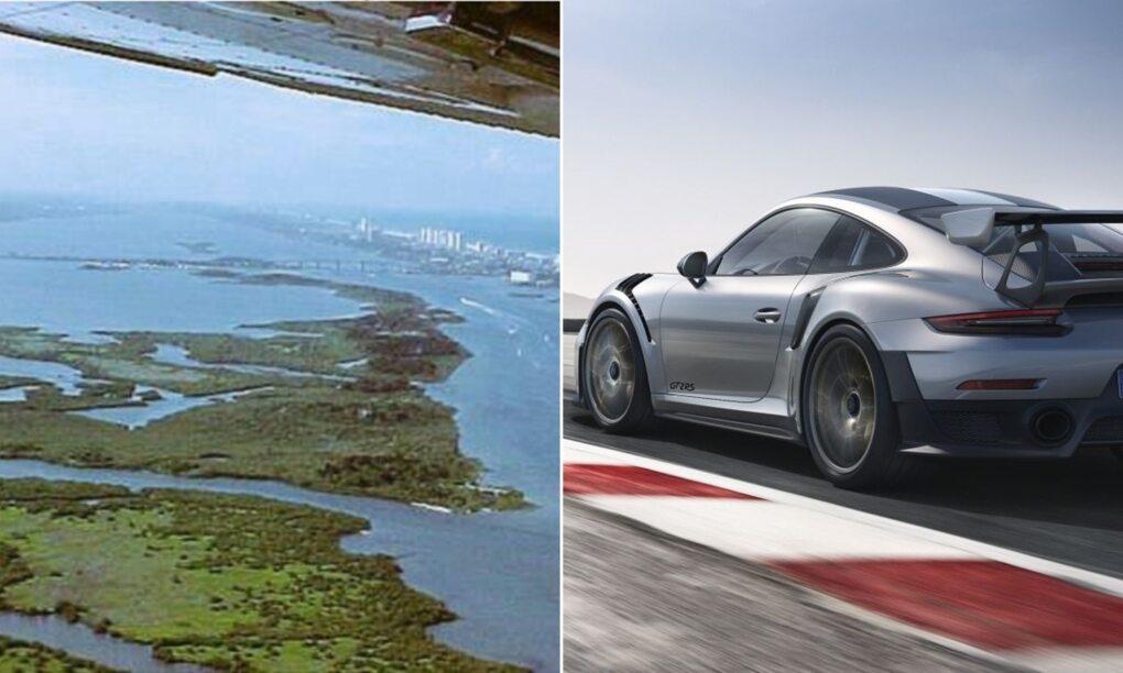 Deze man wilt zijn eiland ruilen tegen een Porsche 911 GT2 RS