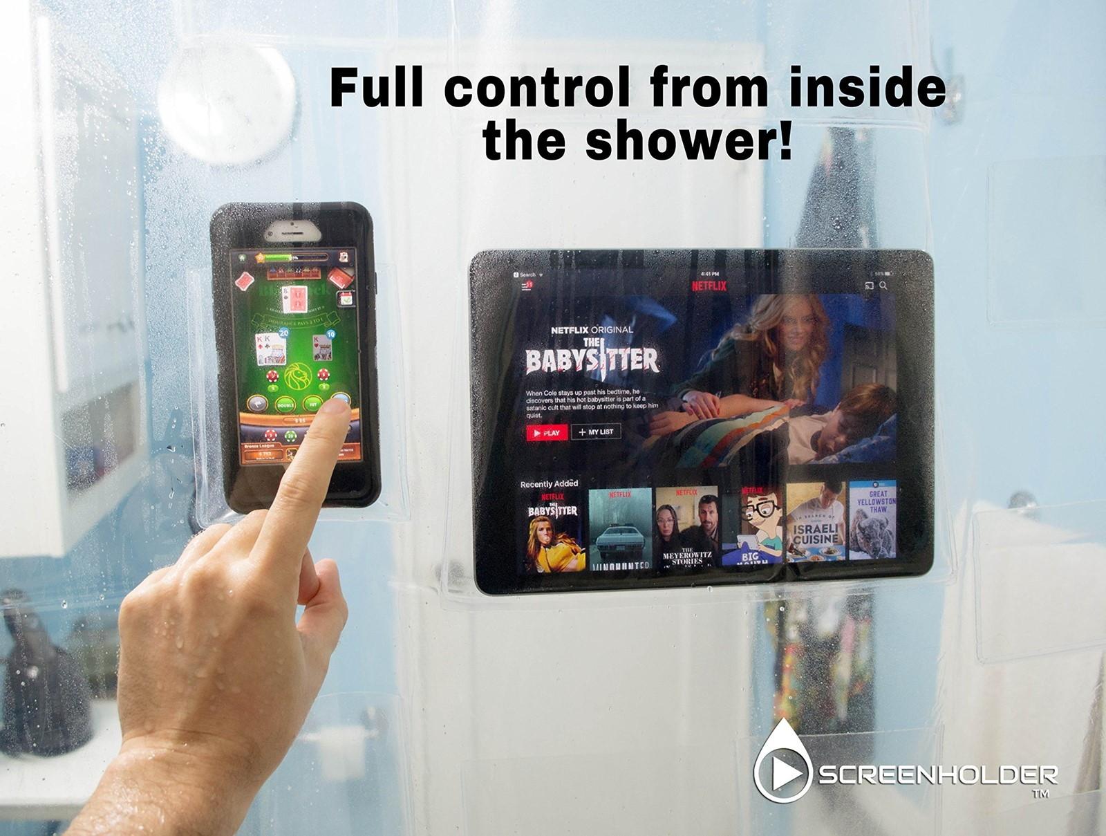 Eindeloos Netflixen onder de douche met dit douchegordijn 02