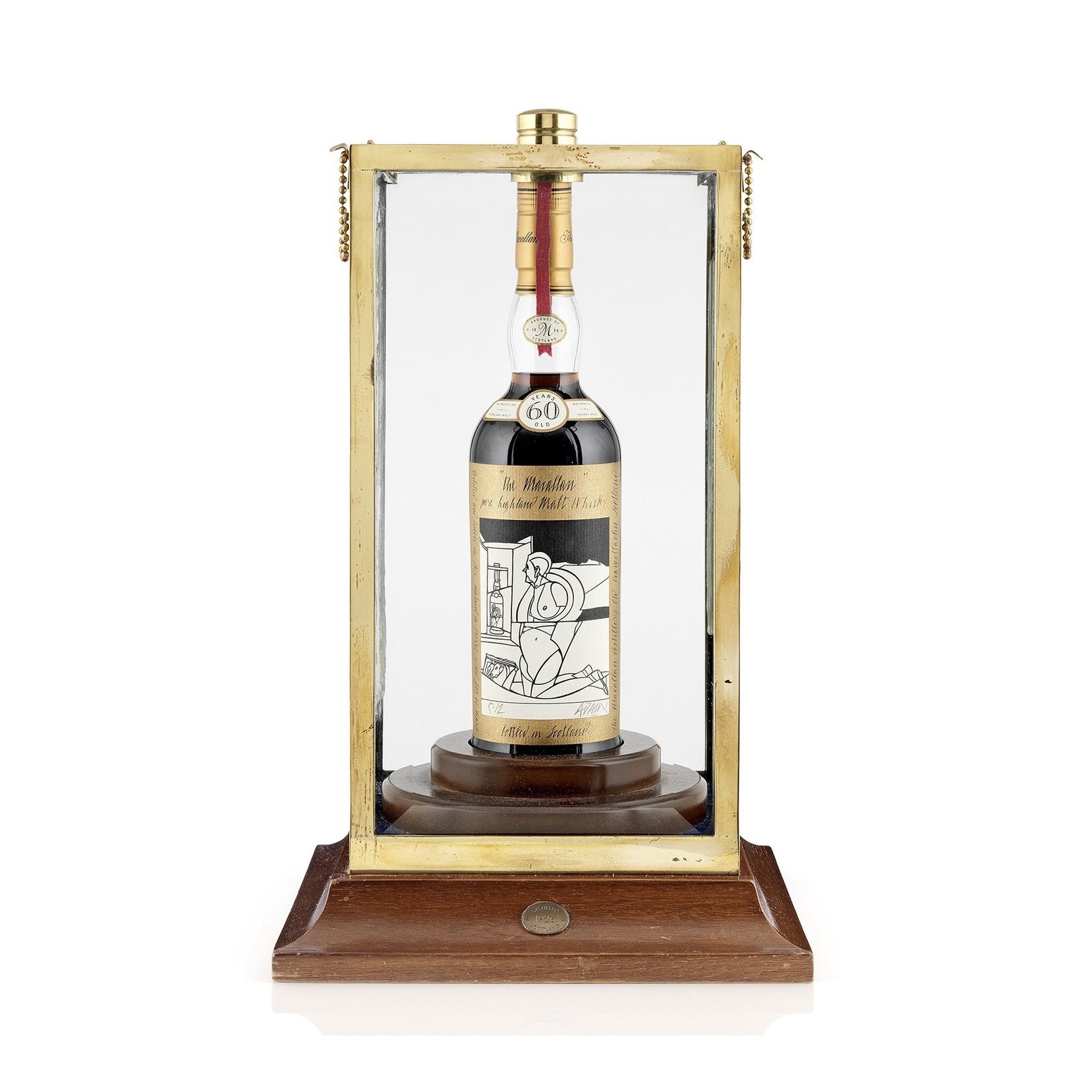 Recordbedrag betaald voor een fles whisky 01