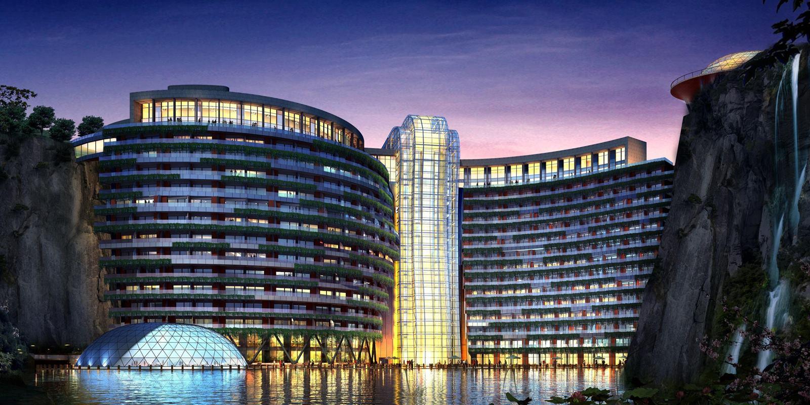 Check dit ondergronds hotel in Shanghai 02 1