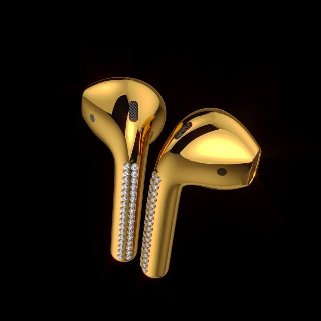 Deze 24 karaats gouden airpods kosten een kleine 10.000 euro 02