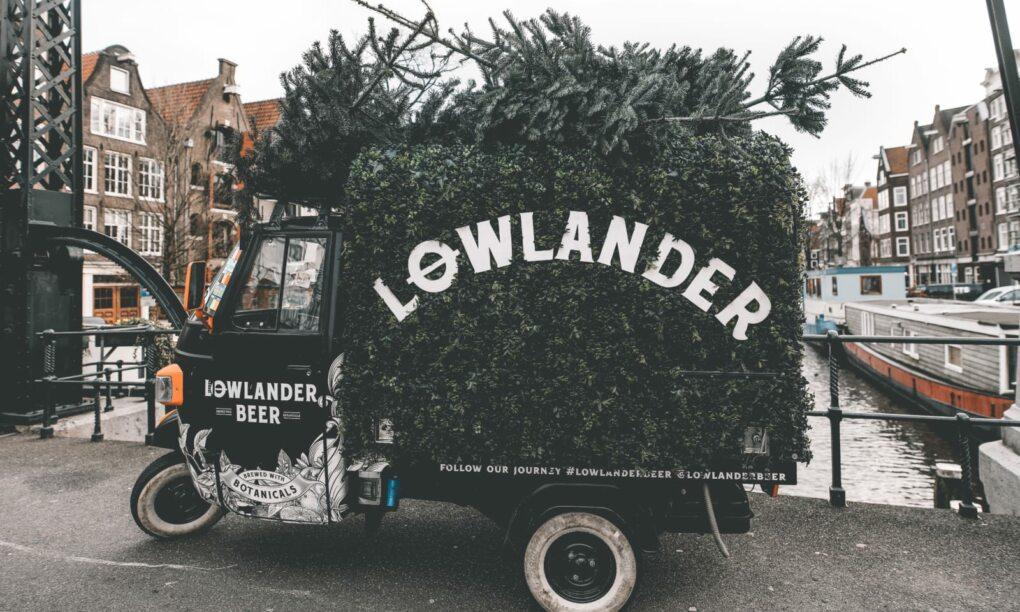 Lowlander Beer maakt bier van jouw kerstboom 02