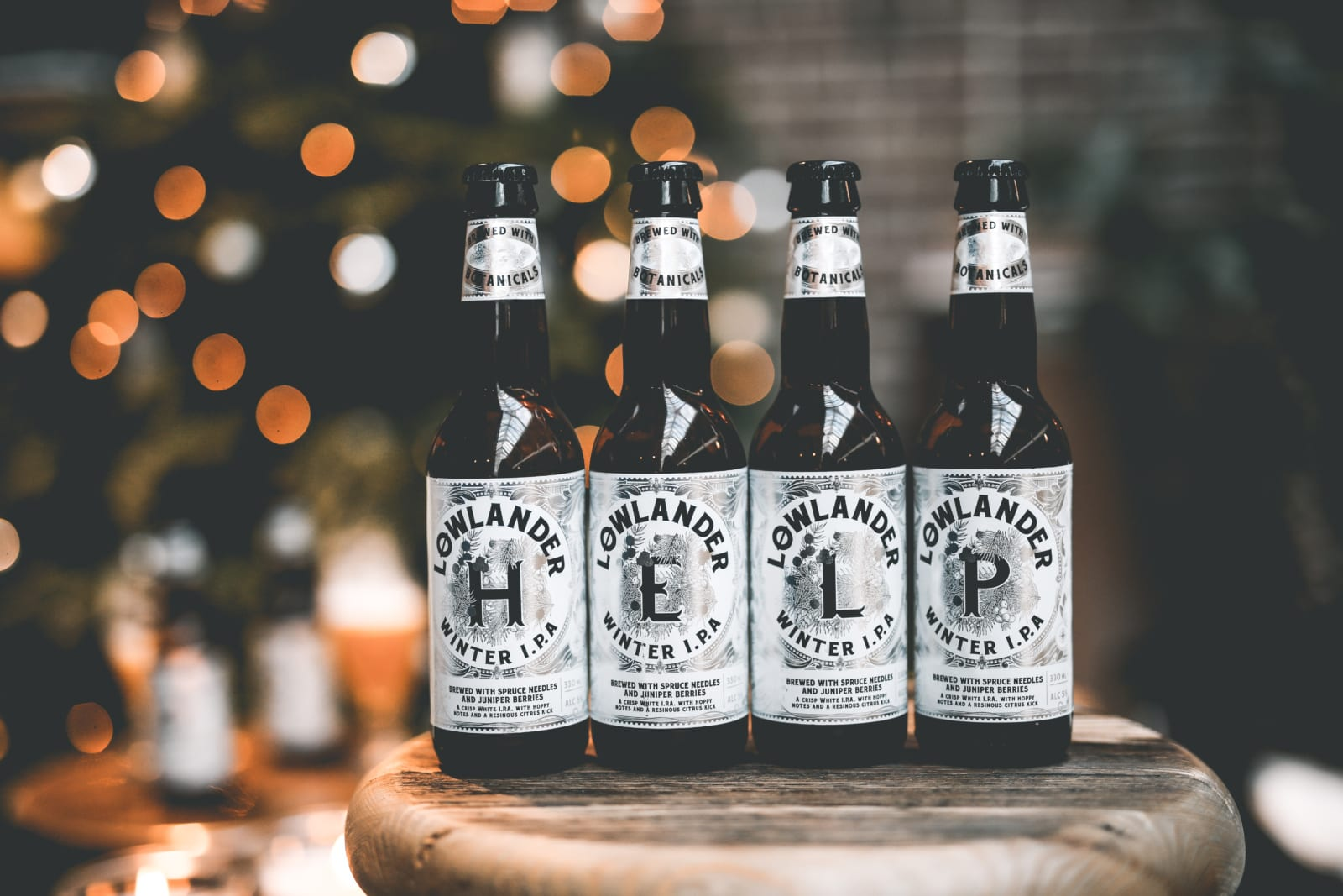 Lowlander Beer maakt bier van jouw kerstboom 03