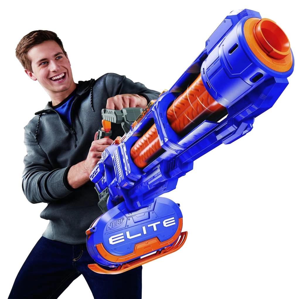 De volautomatische Nerf Minigun maakt van je kantoor een slachtveld 02