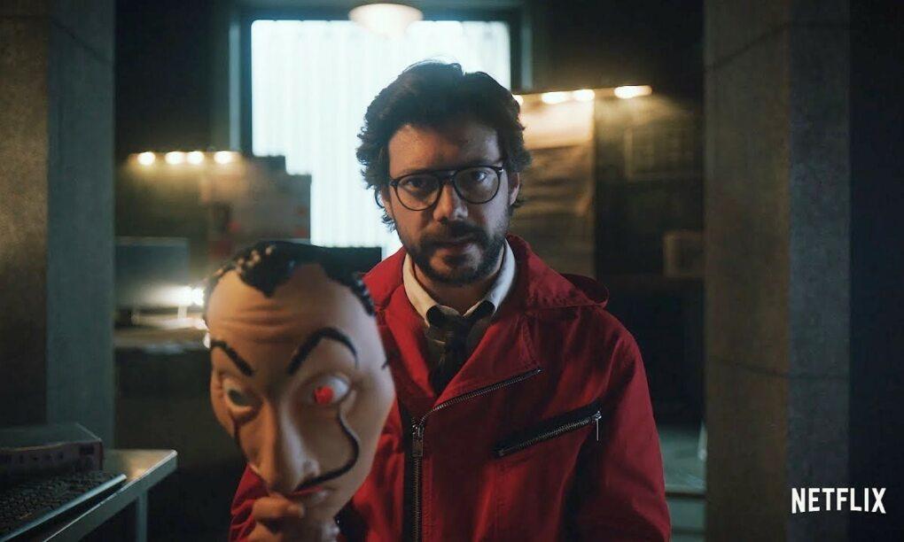 La Casa de Papel dropt nieuwe trailer en El Profesor