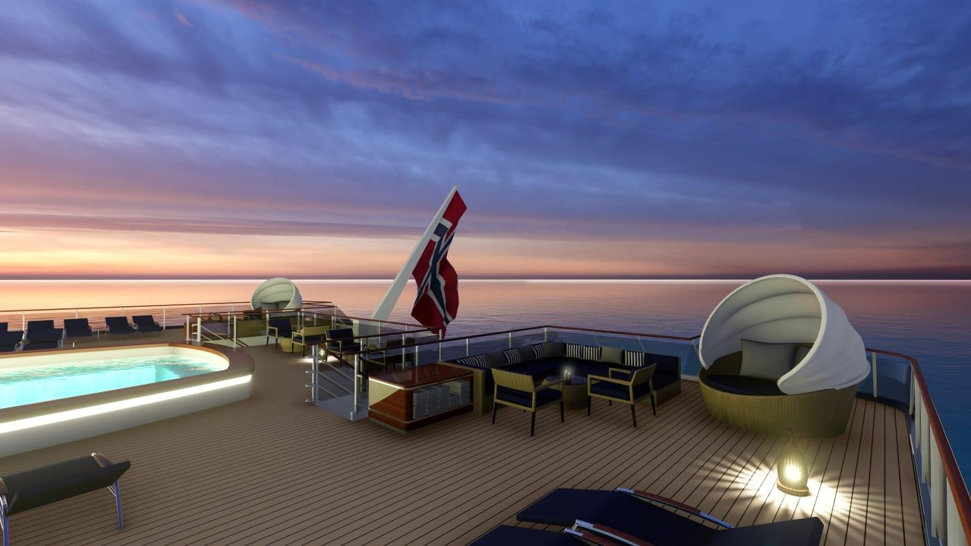 Met dit brute jacht van SeaDream Innovation cruise je stijlvol naar Antartica 1