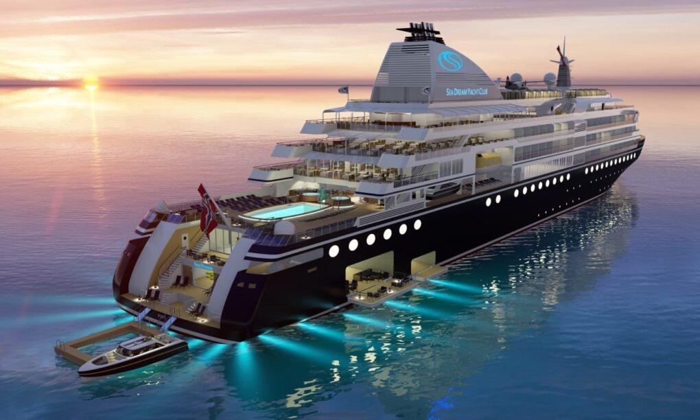 Met dit brute jacht van SeaDream Innovation cruise je stijlvol naar Antartica