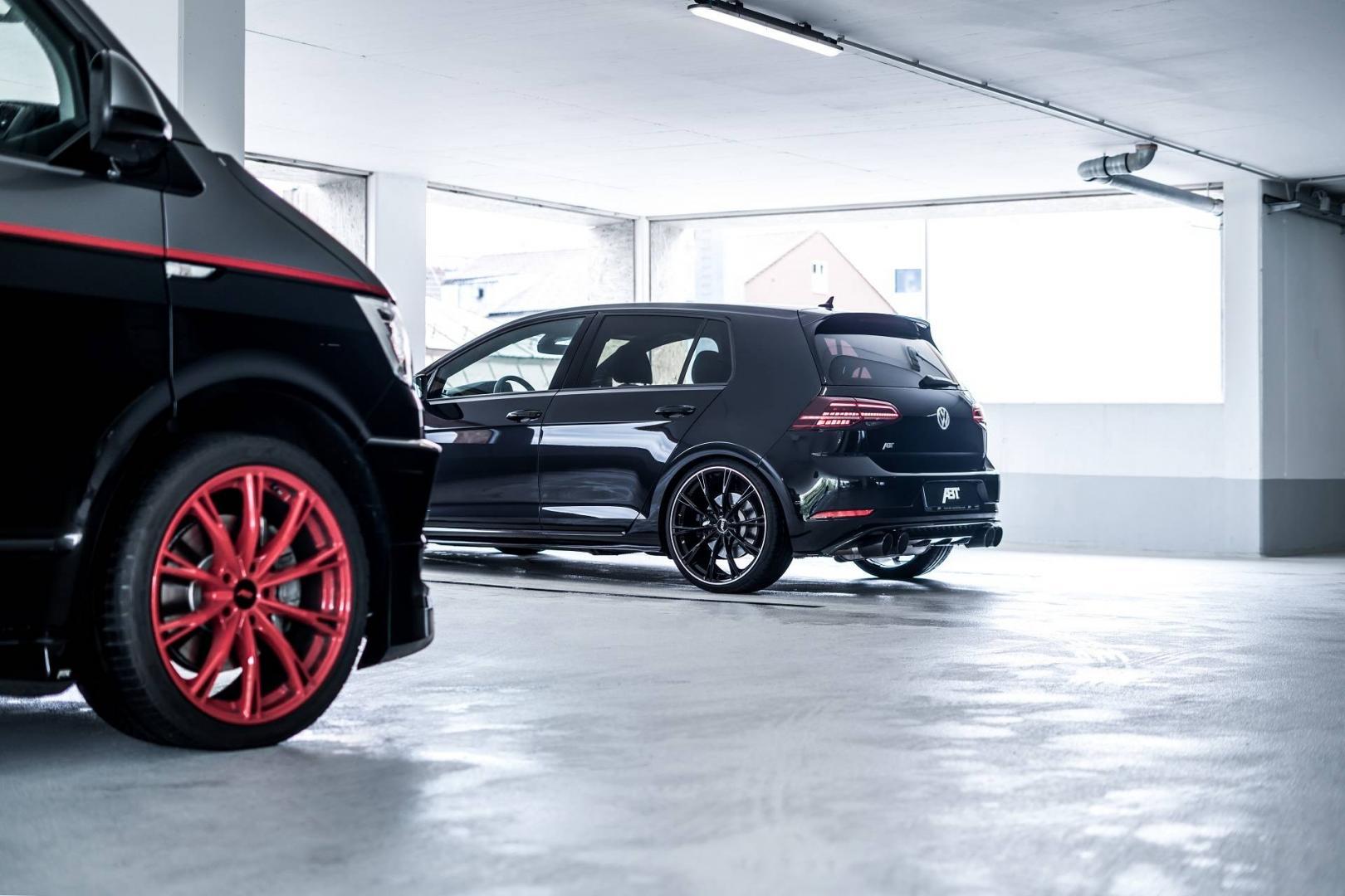 Tuningsbedrijf Abt bouwt VW Transporter om tot dikke A Team bus 4