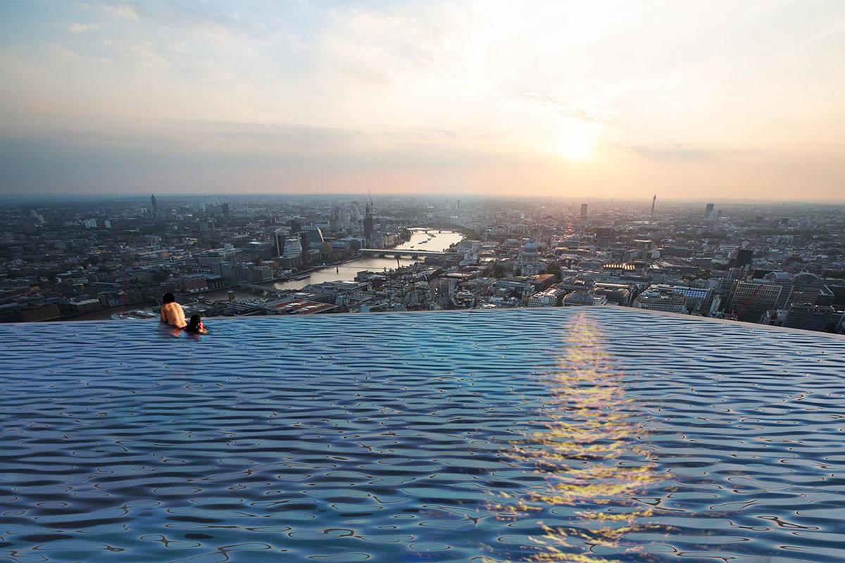 Deze wolkenkrabber in Londen is de eerste met een 360 graden infinity pool02