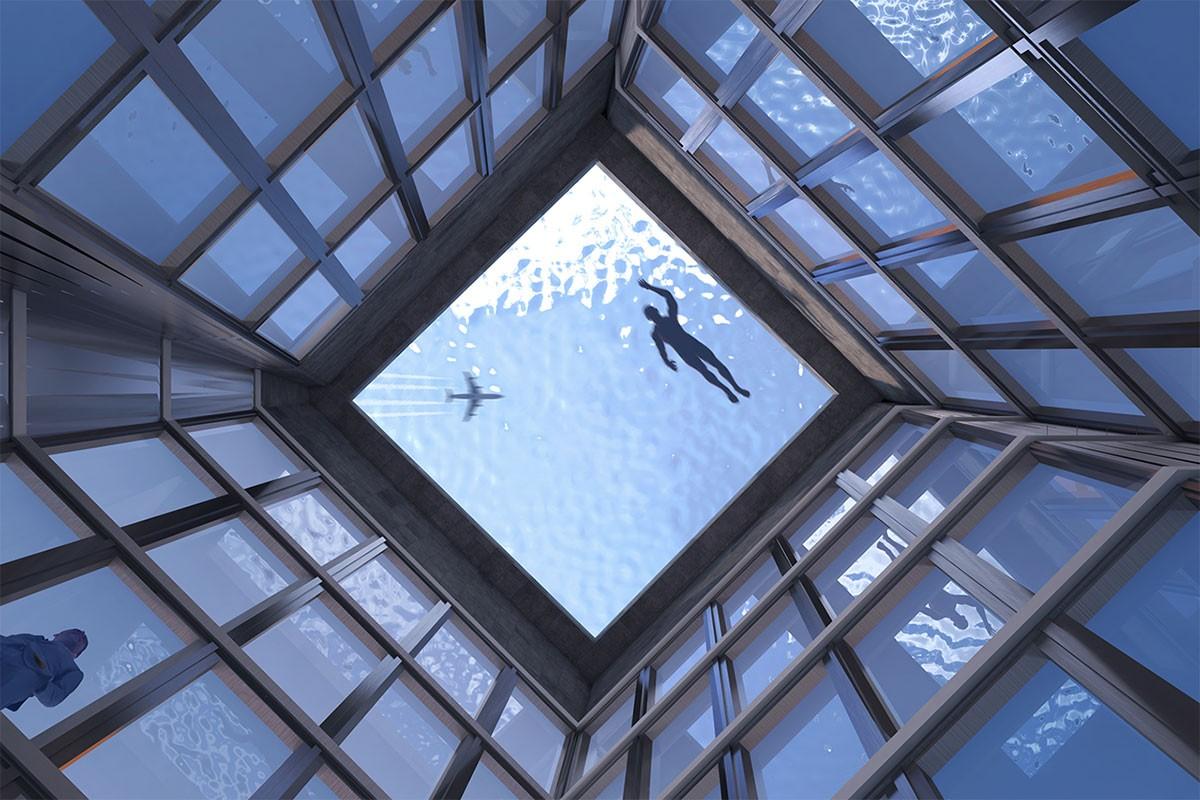 Deze wolkenkrabber in Londen is de eerste met een 360 graden infinity pool03