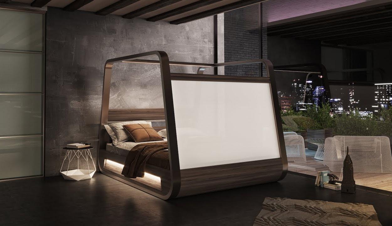 Dit bed is de grote droom van elke film en game liefhebber3