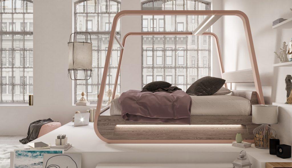 Dit bed is de grote droom van elke film en game liefhebber6