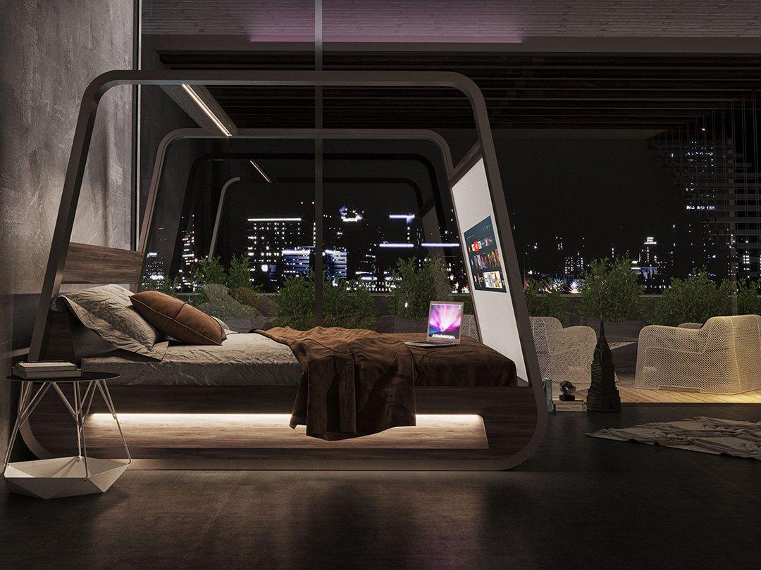 Dit bed is de grote droom van elke film en game liefhebber7