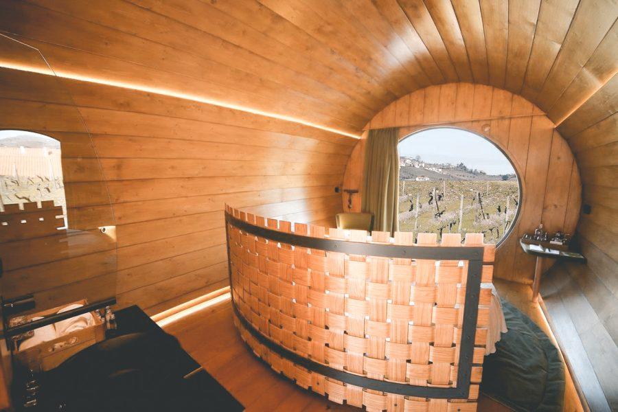 In Portugal kan je nu overnachten in een enorm wijnvat2