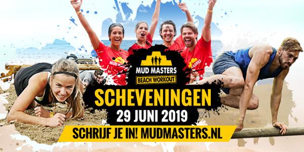 mud masters 2019 beach workout scheveningen