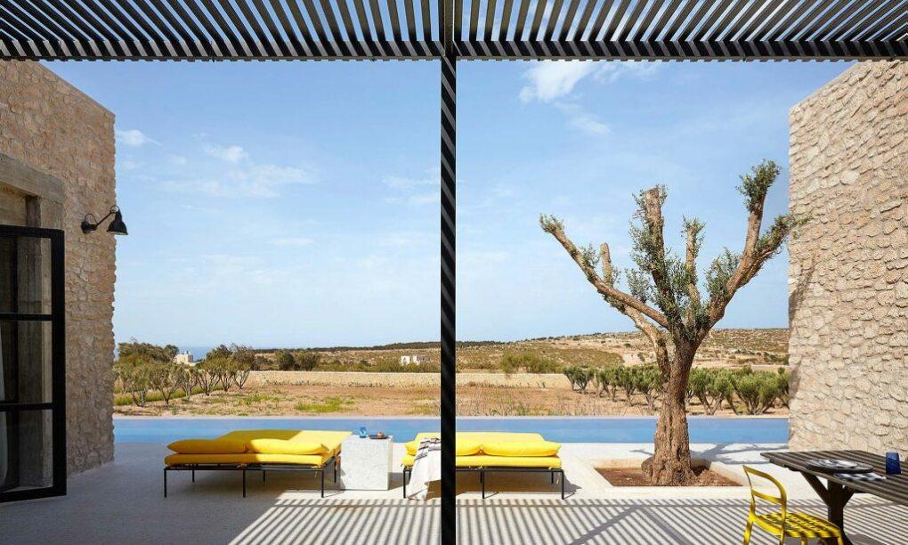 Voor €160 per nacht slaap jij in deze zieke Villa Lotus in Marokko1