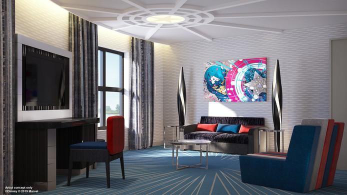 Disneylands nieuwe hotel heeft de perfect kamers voor echte Marvel fans1
