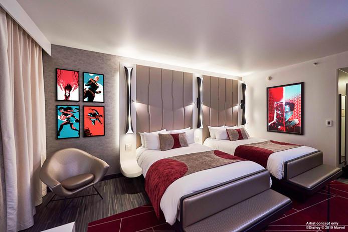 Disneylands nieuwe hotel heeft de perfect kamers voor echte Marvel fans2