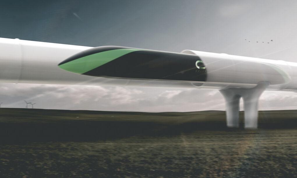 Dit is hoe reizen in Elon Musks hyperloop er uit komt te zien 2