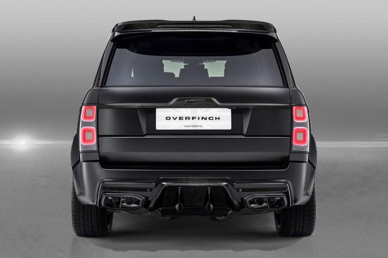 Overfinch heeft de Range Rover een hele unieke look gegeven 3