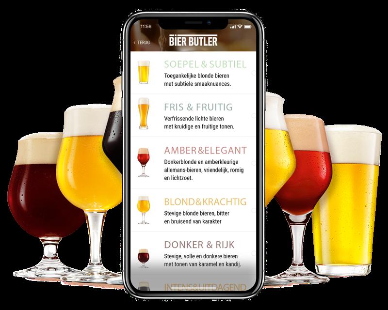 Met de Bier Butler app word je een meester in bierpairing