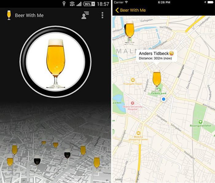 Met deze bier app weet jij altijd waar je maten bier aan het drinken zijn1
