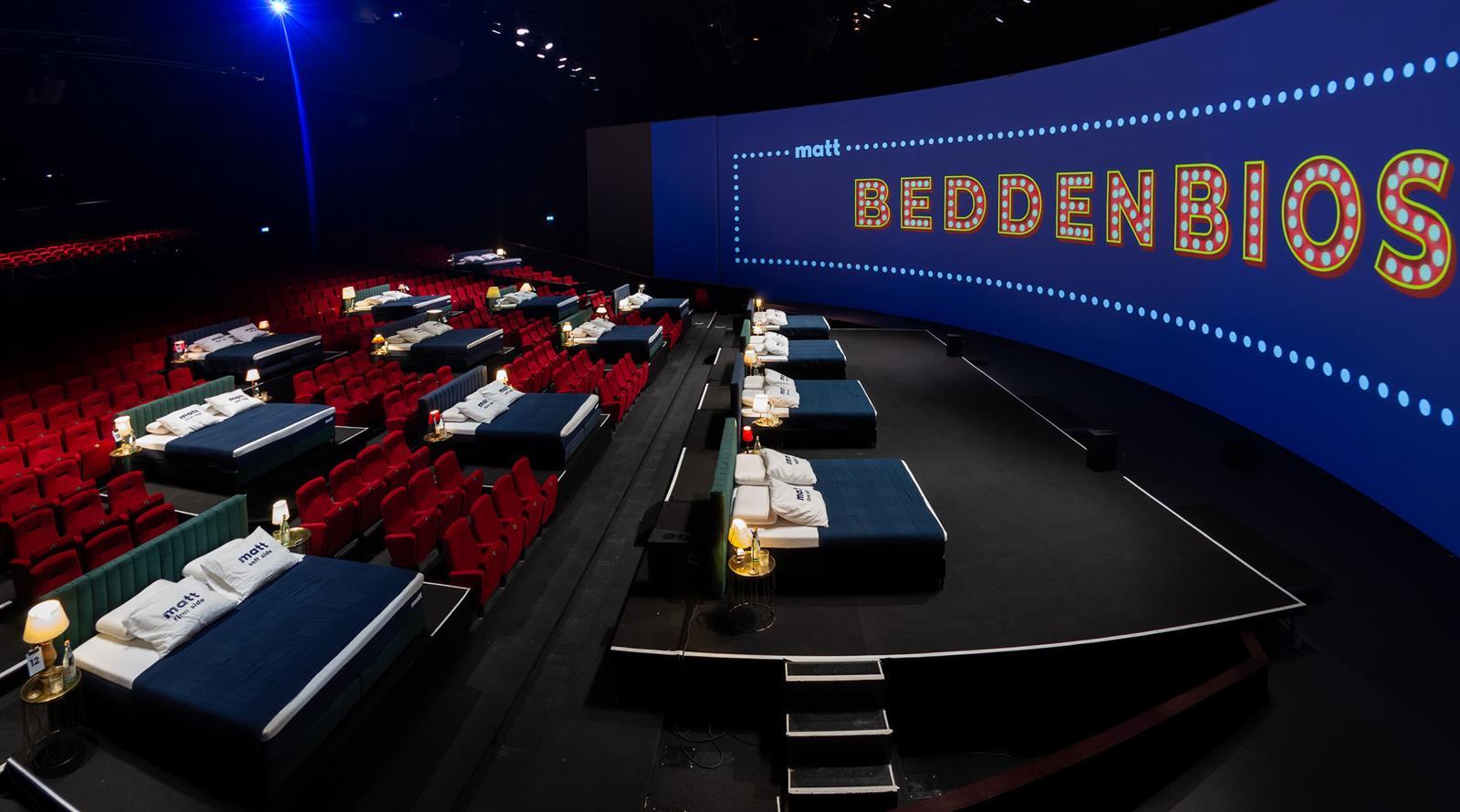 Beddenbioscoop Theater Amsterdam, Ligbioscoop