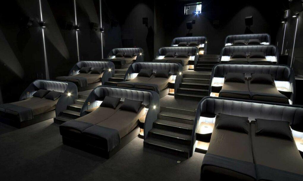 In deze Nederlandse bioscopen kun je nu heerlijk liggen