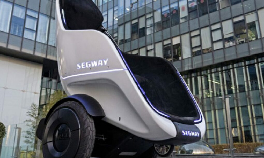 Segway komt met futuristische stoel voor extreem luie mensen