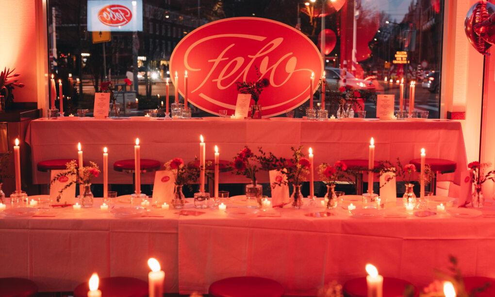 Bij FEBO kun je deze Valentijn een 3 gangen menu eten met je geliefde