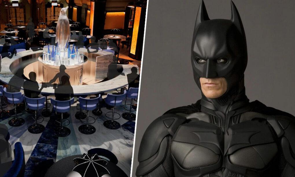 sWerelds eerste Batman restaurant komt naar Londen