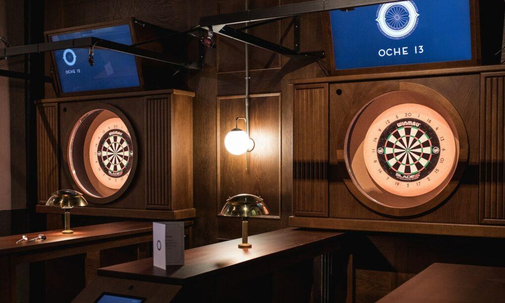 Deze week opent er een dartcafe met unieke technologische gamefuncties