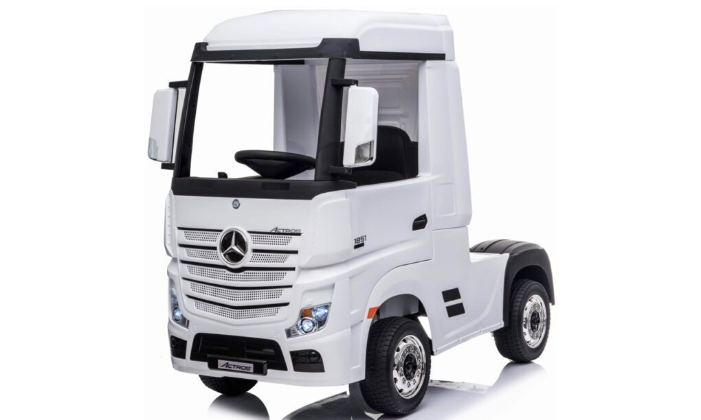 Makro elektrische Mercedes Benz vrachtwagen speelgoed