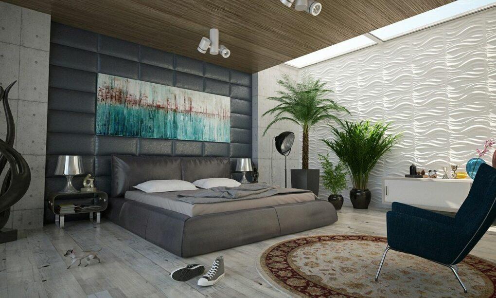 Met deze stijlvolle tips maak je een mannelijke slaapkamer