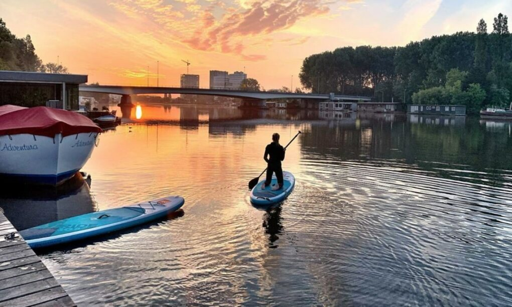 Manly's Hotspots Suppen bij de SUP SUP CLUB
