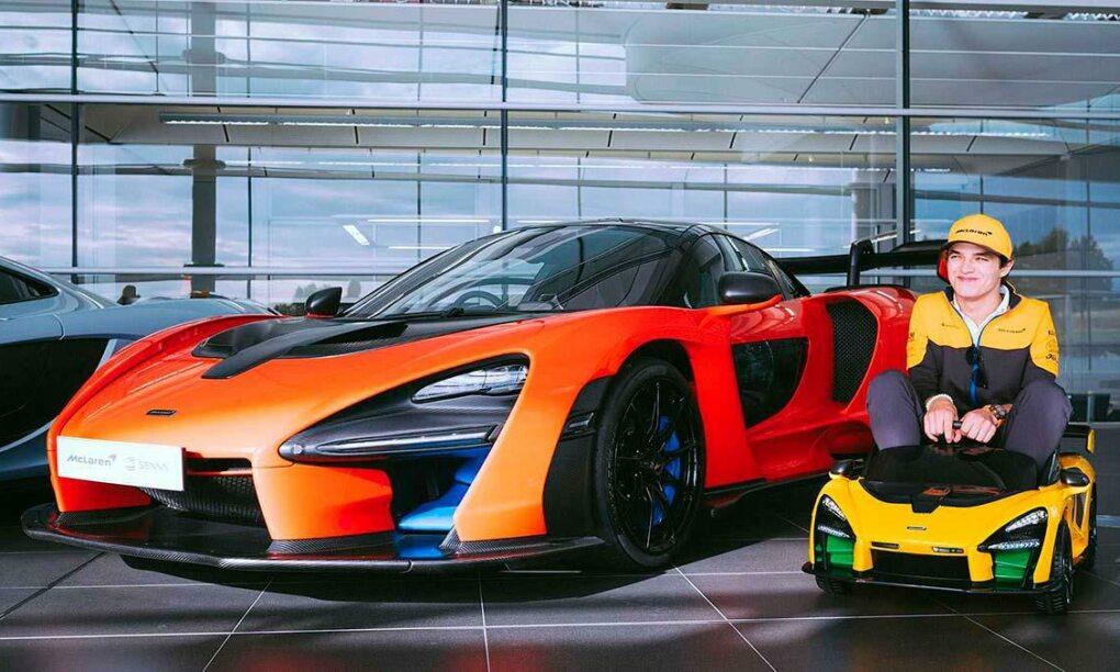 Deze elektrische McLaren Senna Ride On is het leukste speeltje voor jouw kleine