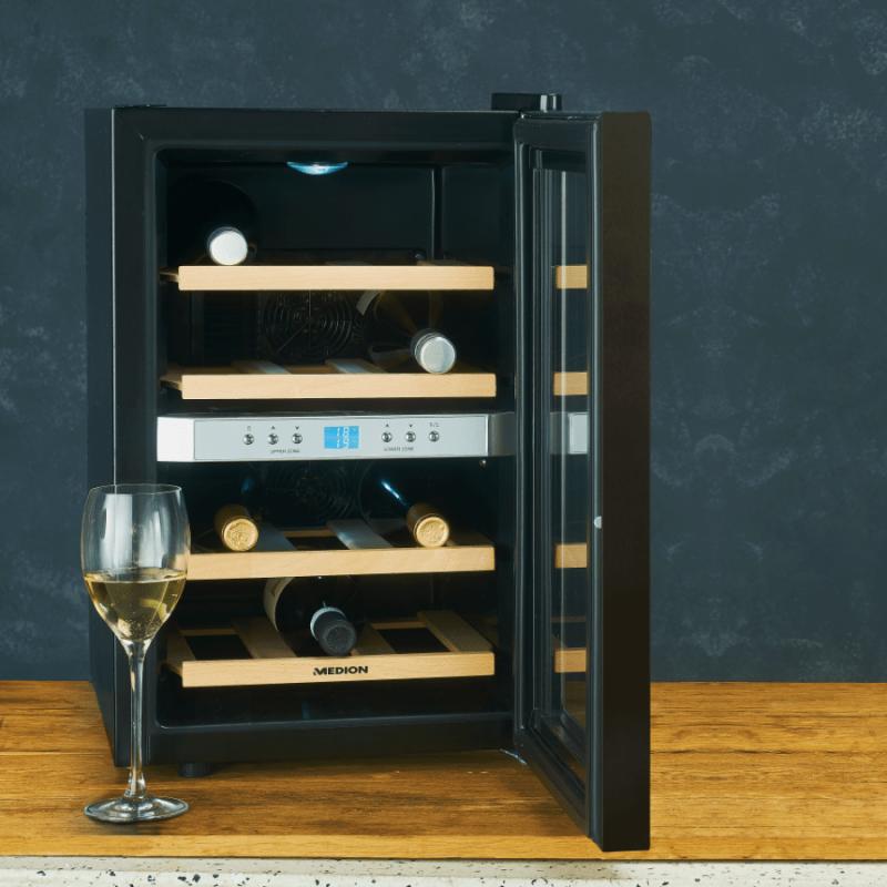 Aldi heeft nu deze luxe wijnkoelkast in de aanbieding
