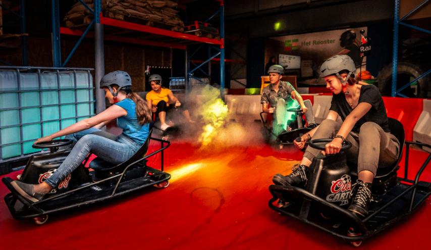Je kunt binnenkort real life Mario Kart spelen in Utrecht