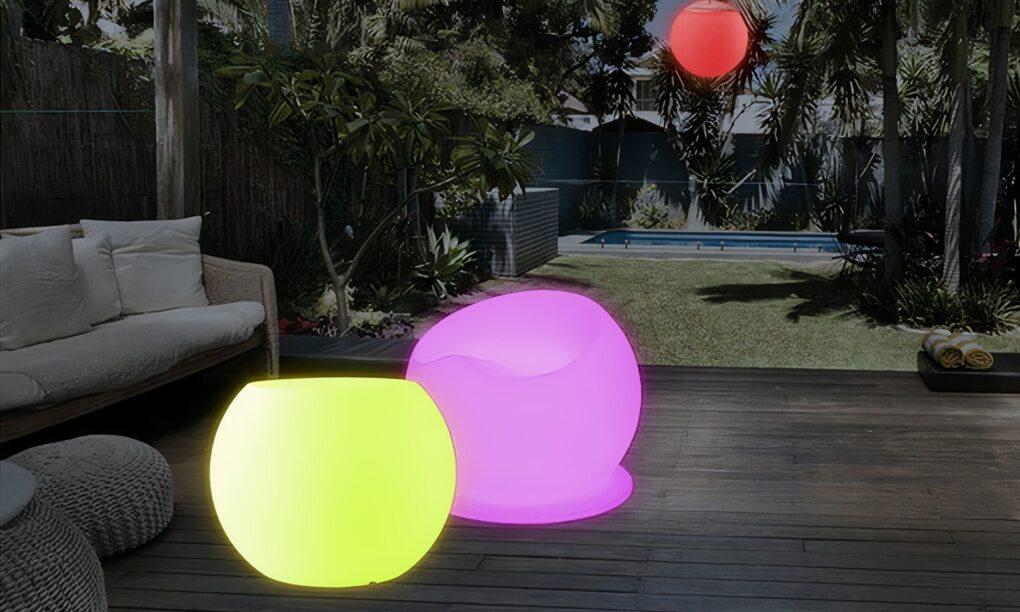 Lidl verkoopt nu een toffe LED loungestoel