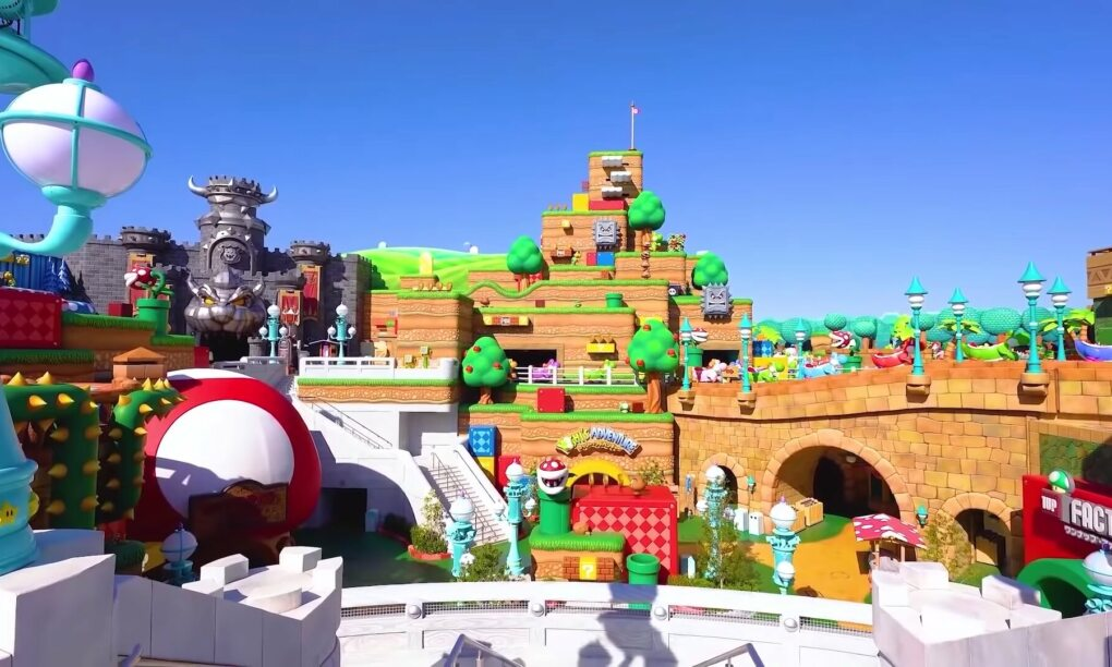 virtuele tour Super Nintendo World