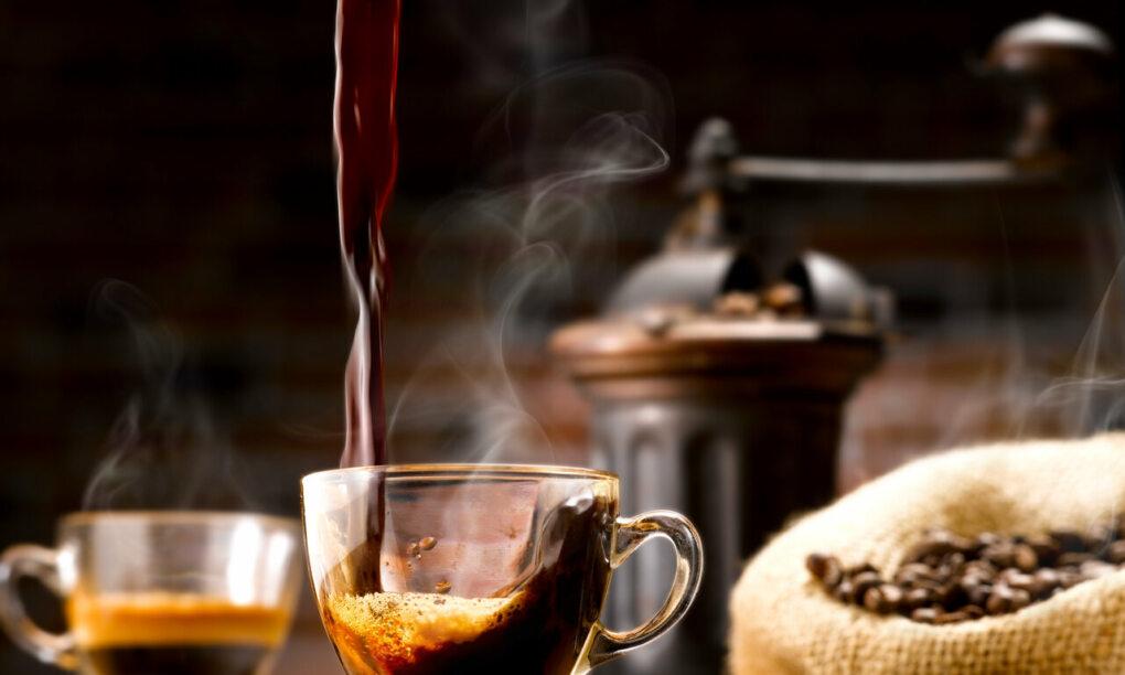 wetenschap kopje koffie