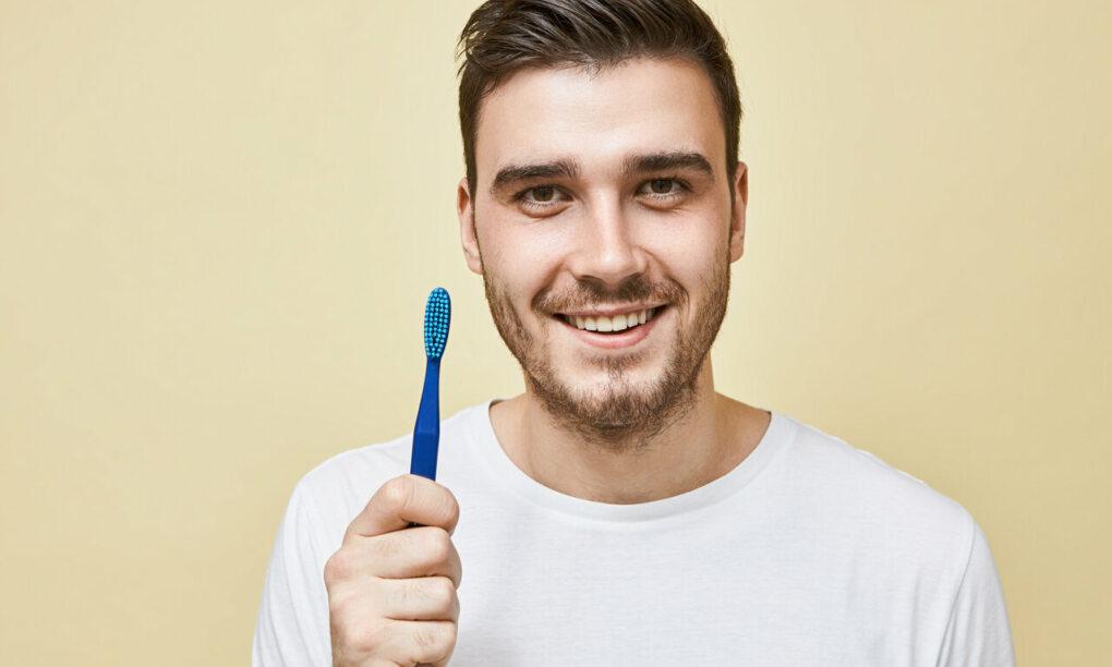 tanden poetsen ontbijt