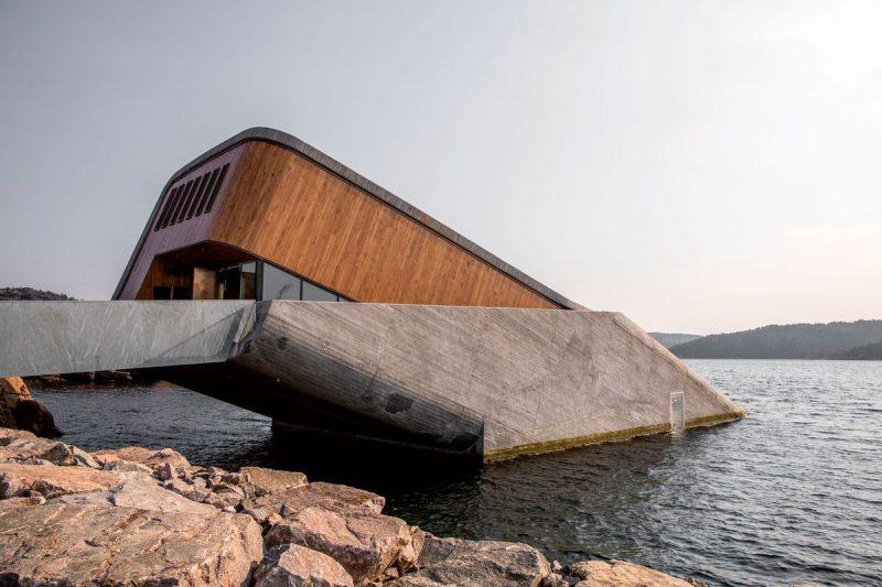 under, onderwaterrestaurant, noorwegen