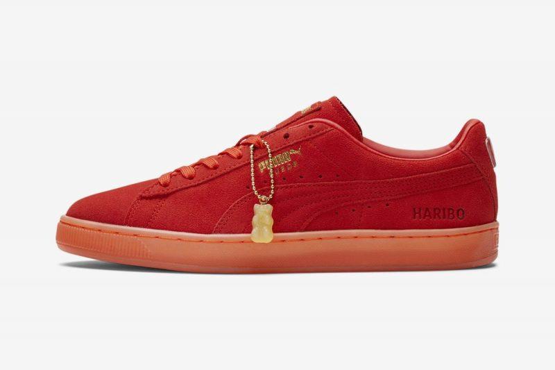 haribo puma sneakers rood