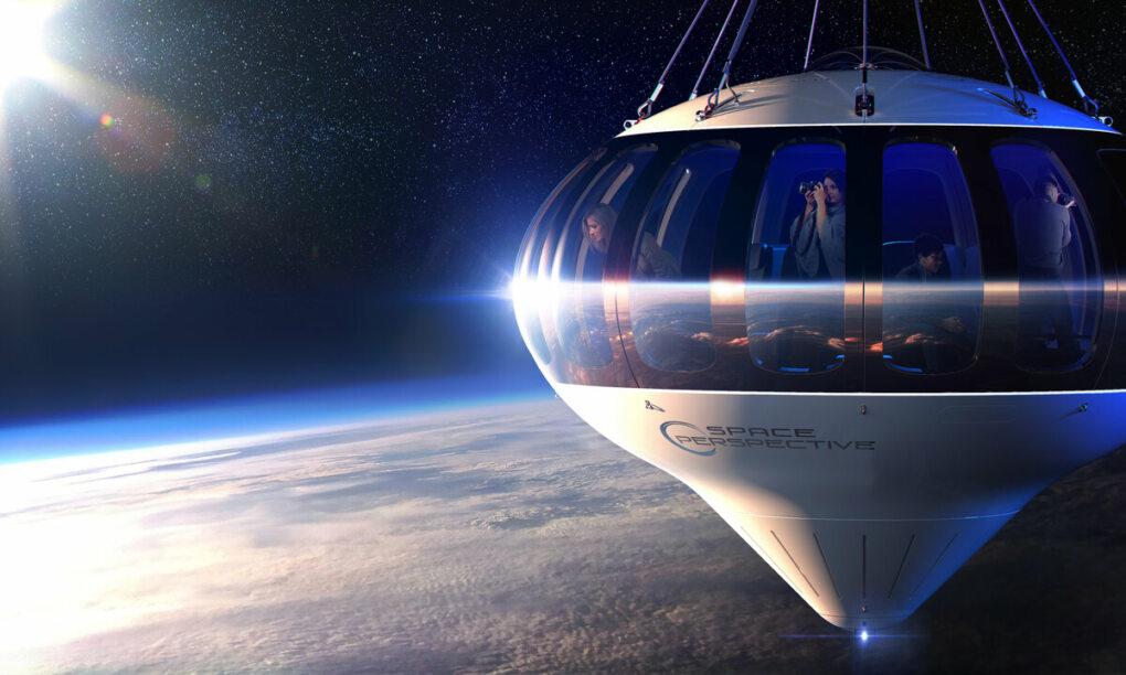 ruimtereis commerciele ruimtevaart